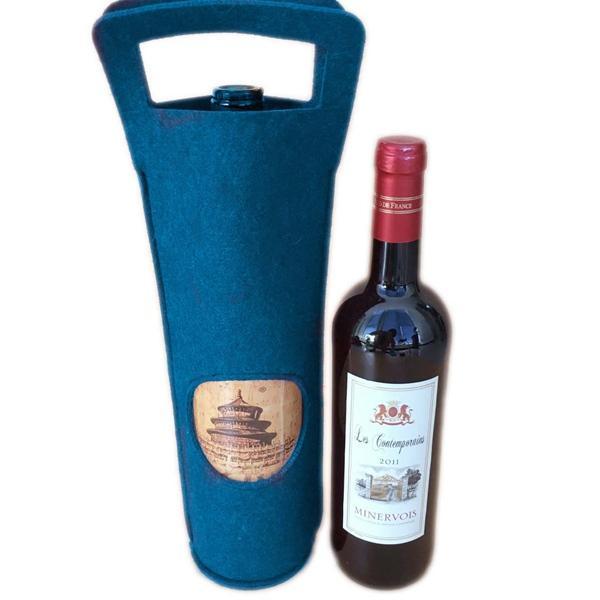 毛毡红酒瓶包