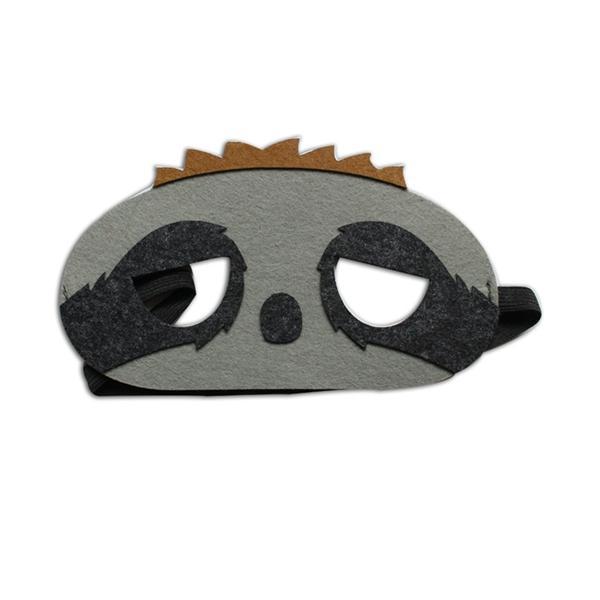 卡通毛毡面具