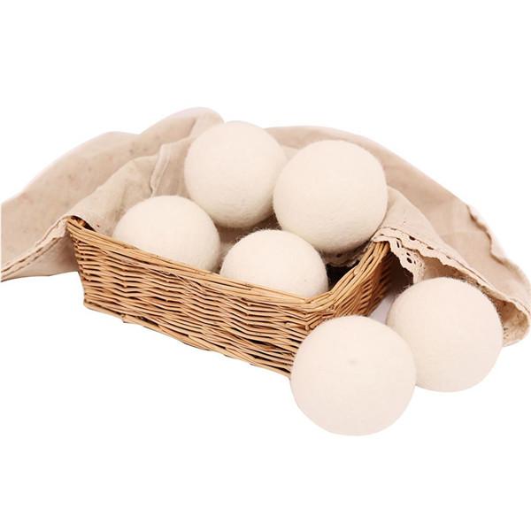 新西兰进口纯羊毛干燥球7cm