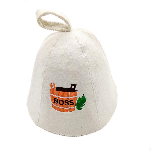 外贸原单厂家特供俄式毛毡桑拿帽