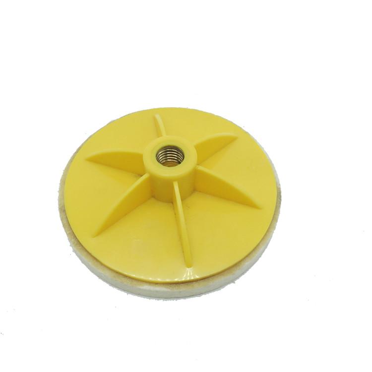 黄色背盘抛光轮