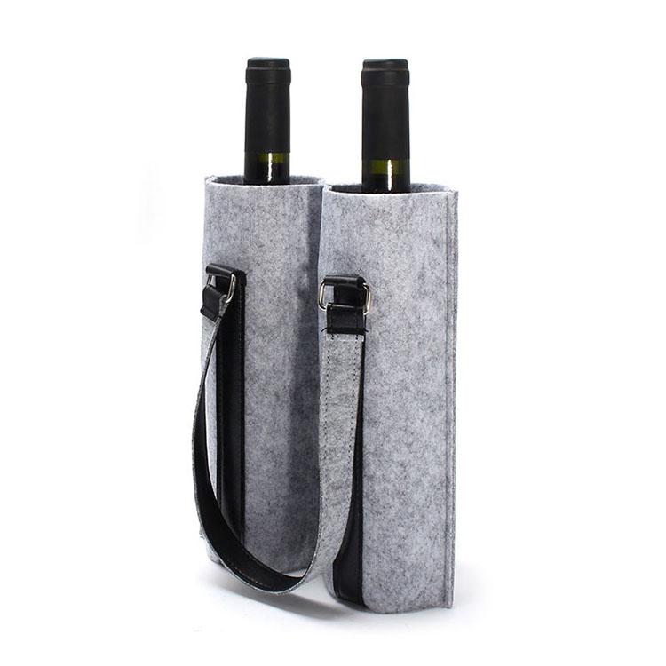 新款手提袋环保毡酒袋