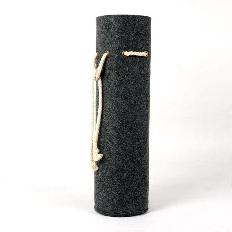 高质量的定制带手提式手柄葡萄酒瓶包
