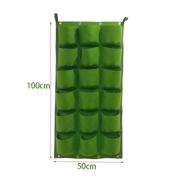 工厂直销 可定制 批发 2019年新款植物种植袋可悬挂 室内室外均可