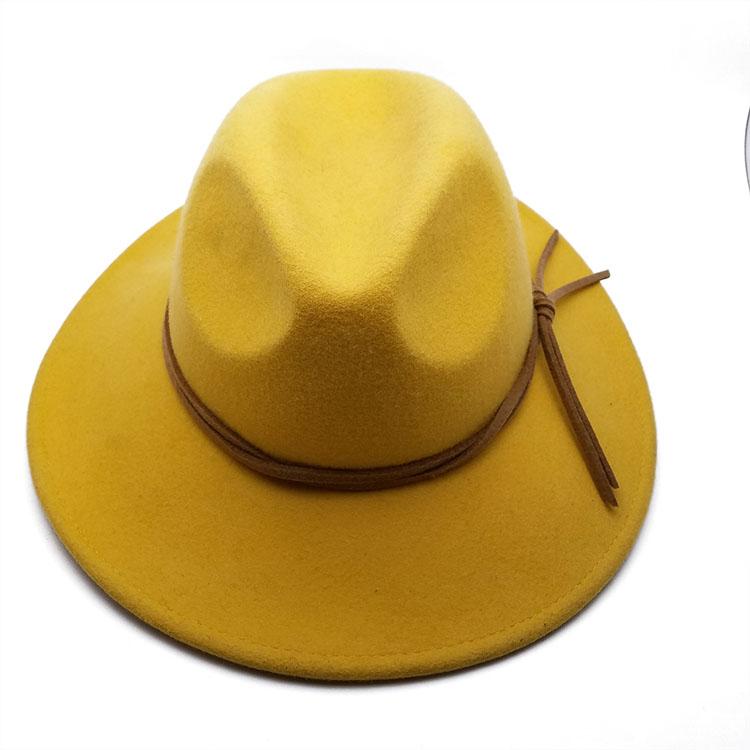 工厂定制英伦风畅销款羊毛帽